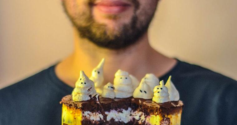 Tort na 4 urodziny bloga