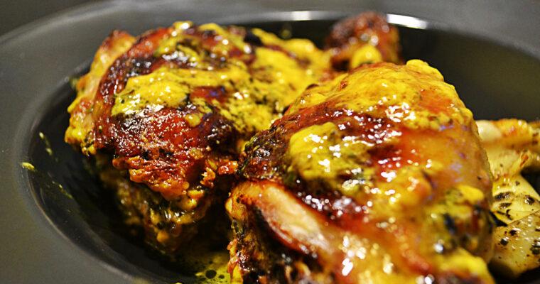Udka kurczaka w marynacie curry