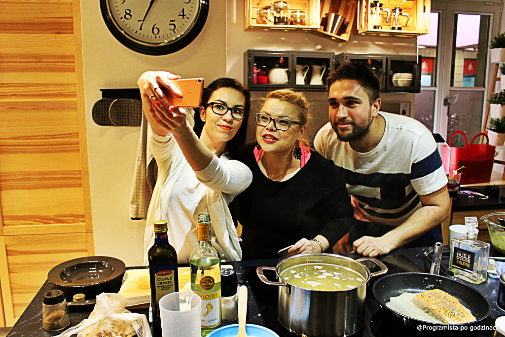 Bloggers Cook in Warsaw