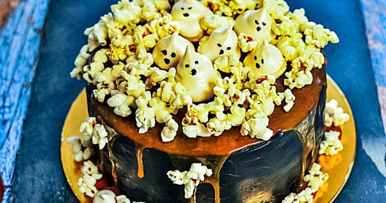 Jesienny tort duszkowy