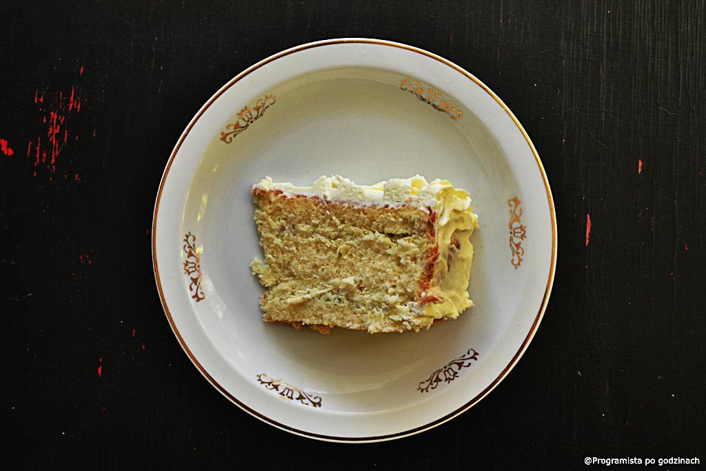 Tort pistacjowy bez barwników i sztucznych dodatków